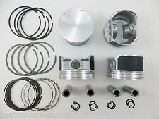 Upgraded Pistons/Premium Rings for 02-06 Nissan 2.5L Altima Sentra QR25DE .25mm