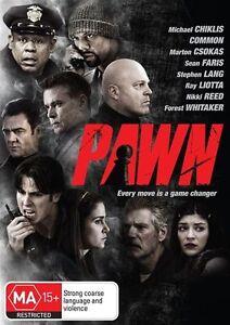 Pawn (DVD, 2013) Michael Chiklis - Ray Liotta - New & Sealed - Region 4