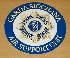 Garda Siochana/Irish Police vinyl sticker.
