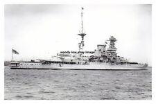 rp14477 - Royal Navy Warship - HMS Barham , built 1915 - photo 6x4