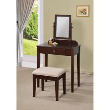 Williams Home Furnishings Sky 3 Pc. Piece Vanity Set Makeup Table With Stool