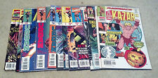 KAZAR LOT 1-7,9-10,18,20,-1(9.2-9.4)(NM- TO NM)12 ISSUES-MARVEL