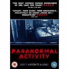 Paranormal Activity (DVD) -New - Sealed