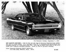 1970 Plymouth Sport Fury GT Automobile Photo Poster zad9909-VTJ48C