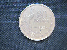 20 Francs Guiraud 1952 B,        TB