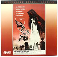 Burn Witch Burn, 1962 Horror - LASERDISC