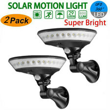 UFO Outdoor 29 LED Solar Power PIR Motion Sensor Wall Street Light Garden Lamp