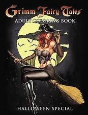 Grimm Fairy Tales Adult Coloring Book Different Seasons (Paperback or Softback)