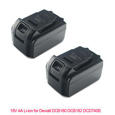 2X 4.0Ah 18V Volt XR Li-ion Battery for Dewalt DCD785 DCF885 DCB182 Combi Drill
