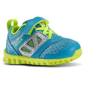 REEBOK M43040 REALFLEX SPEED 3.0 Inf's (M) Blue/Yellow/Silver Mesh Running Shoes