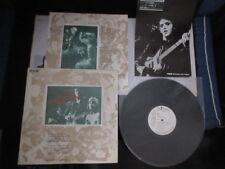 Lou Reed Berlin Japan Promo Vinyl LP w Promo Press Release Velvet Underground