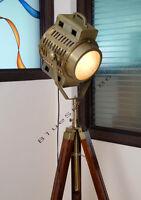 ARRI 40's Vintage Theater Stage Nautical Spotlight - Art Deco Industrial Lamp
