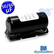 3S CONDENSATORE AVVIAMENTO 50-60 µF mF 330Vac 50/60 Hz MOTOR STARTING CAPACITOR