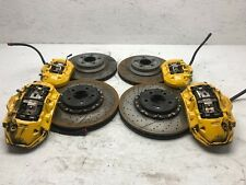 07 08 09 MERCEDES E63 W211 6.2L V8 AMG OEM BREMBO BRAKE CALIPERS W/ ROTORS PADS
