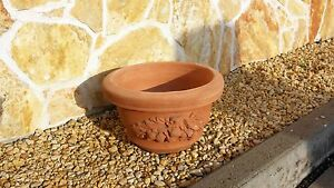 Terracotta Cotto Pflanztrog Pflanzkübel Dekoration Italien Schale Blumen Garten