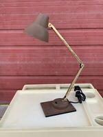 TENSOR IL450 Articulating Desk Lamp Brass Toned Vtg Mid Century Modern