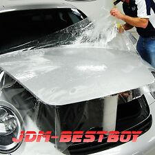 "12""x60"" Clear Car Body Paint Protection Bra Film Vinyl Wrap Scratches Shield"