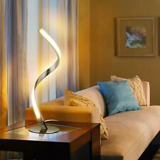 Twisted LED Table Lamp Modern Nightstand Touch Light Unique Spiral Lighting NEW