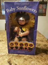 Anne Geddes Baby Sunflower Doll 1998