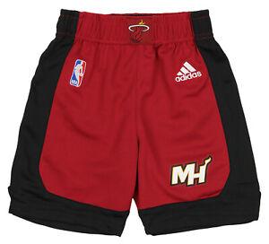 Adidas NBA Toddler Miami Heat Team Athletic Shorts, Red