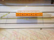 Ultraclear Flat horizontal Acrylic shelving (Box of 9)