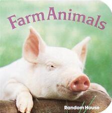 A Chunky Book(R): Farm Animals by Phoebe Dunn (1984, Board Book)