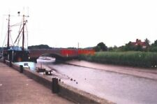PHOTO  1999 SUFFOLK SNAPE BRIDGE THE BRIDGE CROSSES THE RIVER ALDE AND THE MALTI