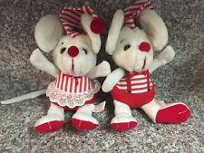 2 Kamar Plush Stuffed Animals (Mice) Precious