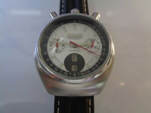 Citizen Chronograph Mens Watch Day & Date Automatic 8110 Bullhead Stainless Stee