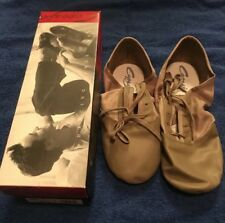 Capezio Splitsole Jazz Shoes Adult #358 Tan Size 12.5 New NIB