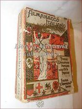 ALMANACCO ITALIANO 1902 Bemporad con Cartolina G. Anichini,  G. Verdi - ARALDICA