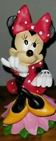 "DISNEY LIMITED EDITION MINNIE MOUSE 6"" STATUE FIGURINE NWT"