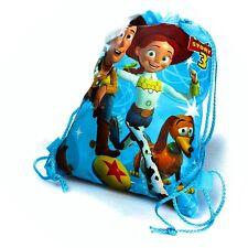 New 1 X Toy Story® Woody Jessie Slinky Dog Drawstring Backpack Swim Bag 35x27cm