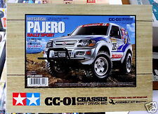 Tamiya  # 58602 1/10 RC  Mitsubishi  Pajero  Rally - CC01  NEW IN BOX