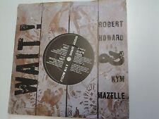 """Robert Howard & Kym Mazelle Wait! 7"""" Vinyl incls Kevin Saunderson mix (Dr)"""