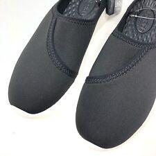 Crocs Women's size 6 Literide Mule Black Slip On Comfort Shoes New