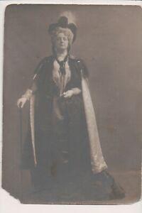 Vintage Photo de Presse Victorien Actrice Kate Largent Ou Sargant