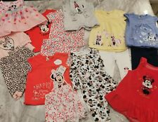 Baby Girl 0-3 months Disney Minnie Mouse Clothes - Pyjamas, leggings, tops