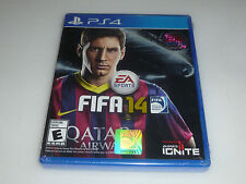 FACTORY SEALED BRAND NEW PLAYSTATION 4 PS4 GAME FIFA 14 SOCCER