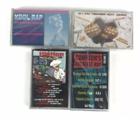 Lot Of 4 Brand NEW Comptons Greatest Rap Hard Rap Kool Rap Hip Hop w R&B SEALED