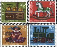Schweiz 1260-1263 (kompl.Ausg.) gestempelt 1983 Pro Juventute