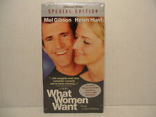What Women Want (VHS, 2001, Special Edition) Mel Gibson Helen Hunt