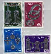 ALGERIA ALGERIEN 1987 930-33 831-34 Jewelry from Aures Schmuck Silberschmuck MNH