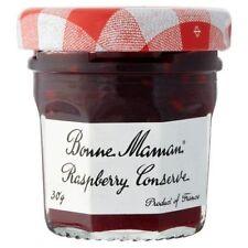 BONNE MAMAN RASPBERRY CONSERVE...PACK OF 15 x 30G MINI JARS