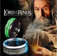 Luminous Lord of the Rings The One Ring Lotr Bilbo's Hobbit The One Band Ring