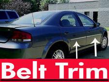 chrysler SEBRING CHROME SIDE BELT TRIM DOOR MOLDING 95-00 01-05 06 all