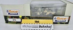 Unimog U2450L 6x6 Berge-Abschleppkfz Roland Lvb Mini Tank Roco 875 H0 Boxed #O Μ