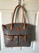 Dooney Bourke Handbag Newbury Crescent Taupe Tote Shoulder Bag