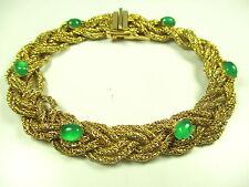 Christian DIOR Designer Armband Gold farbend Modernist bracelet ww N4