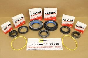 Complete Master Seal Kit Ford Super Duty F250 F350 Dana 50 Front axle 98 - 01